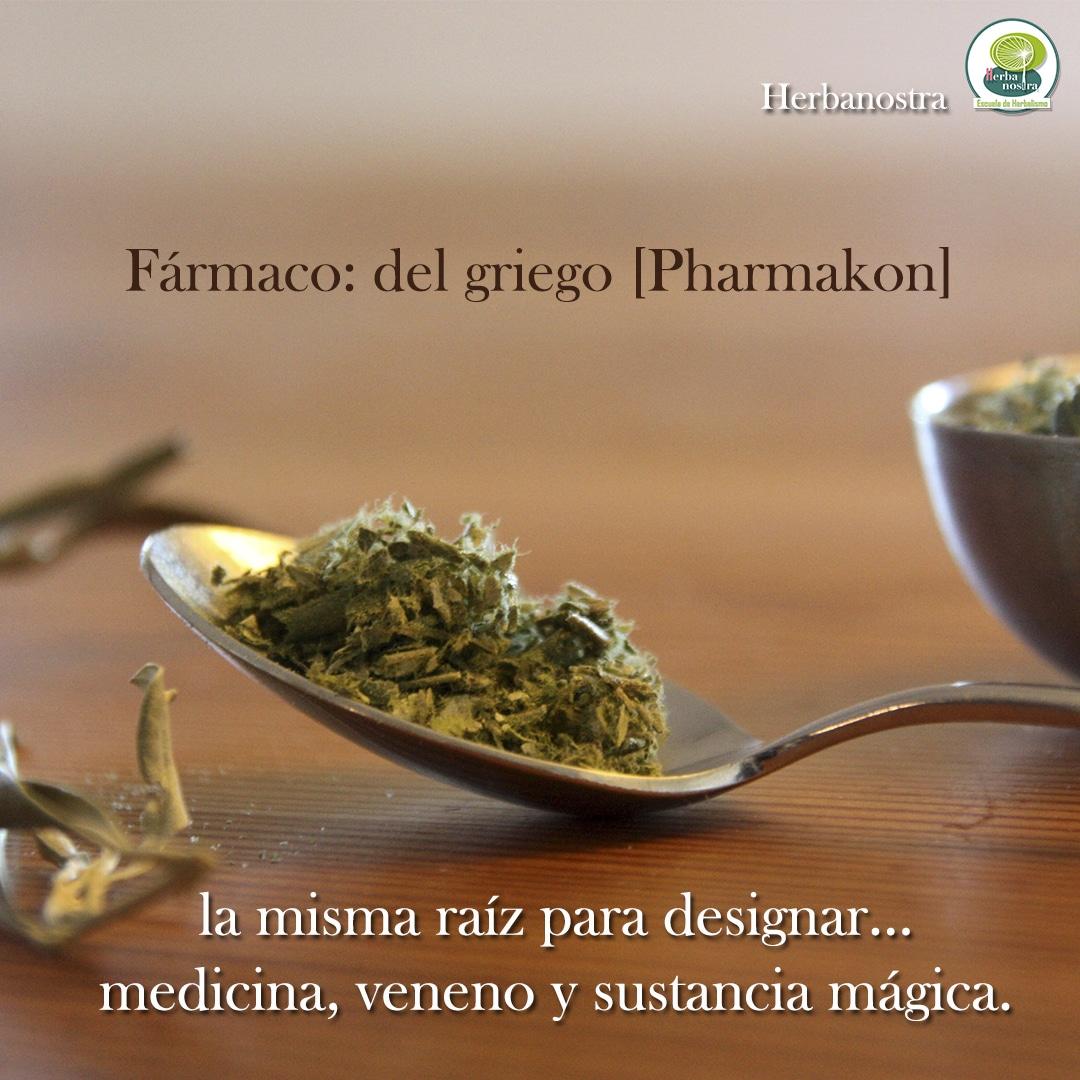 Pharmakon: medicina, veneno y magia